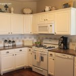 Texas Decor Painted Kitchen Cabinet