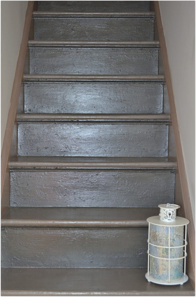 Thepaintedcameo Stairs Makeover Annie Sloan Chalk