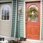 Thrifty Transformation Paint Door Look Like Woodliving Rich