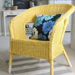 Thursday Spray Painted Wicker Chair House