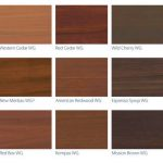 Timber Staining Colour Chart