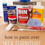 Tips Tricks Paint Over Laminate Foil Covered Ikea Furniture Pinterest Home