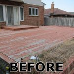 Toronto Deck Staining Fence