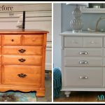 Traditional Maple Dresser Makeover Tutorial Adding Feet Saw Nail