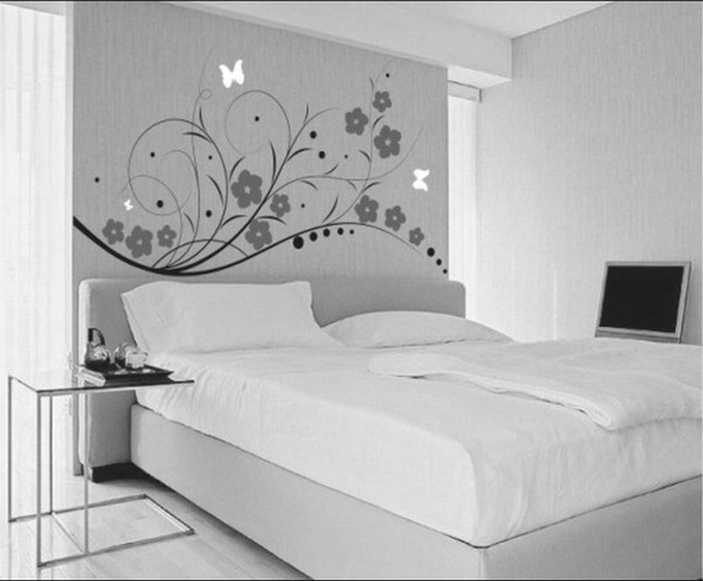 Trend Decoration Ideas Painting One Wall Bedroom Paint Color Colours