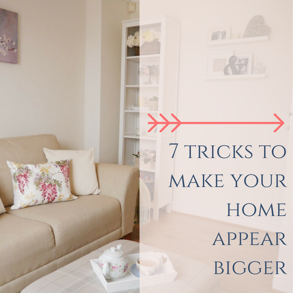 Tricks Make Your Home Appear Bigger Dove