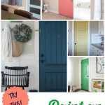 Try Colors Can Paint Interior Door Four Generations One