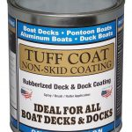 Tuff Coat Diy Rubberized Non Skid Boat Deck Coating Kit