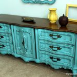 Turquoise French Provincial Furniture Weekend Country