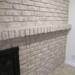 Tutorial Paint Brick Fireplace