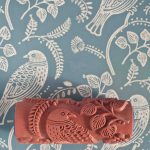 Tuvi Patterned Paint Roller Painted