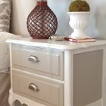Two Yourself Refinished Nightstand Diy Chalk Paint Before After
