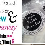 Two Yourself Websters Chalk Paint Powder Review