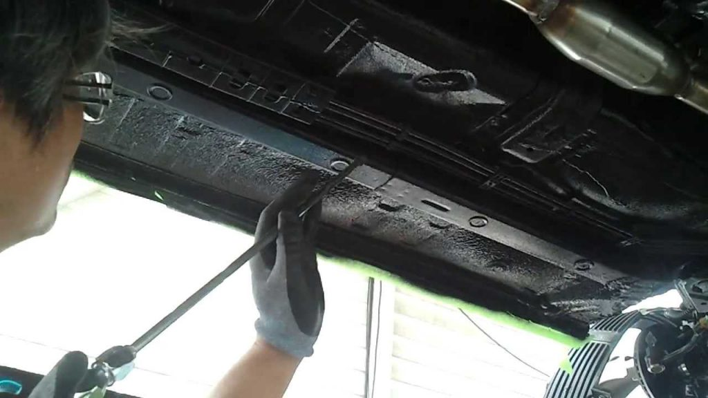Undercarriage Coating Soundproof