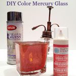Unique Looking Glass Paint Ideas Pinterest Krylon