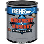 Upc Waterproofing Sealers Behr Premium Finish Gal Basement