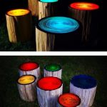 Upcycled Garden Style Website Gardens Inspired Stools Glow