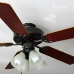 Updating Ceiling Fan Little Paint Tempting