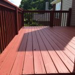 Used Sherwin Williams Superdeck Elastomeric Coating Great Finish