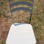 Using Chalk Paint Metal Patio Furniture Crowned