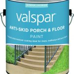 Valspar Anti Skid Enamel Porch Floor Paint Gal Dark Gray