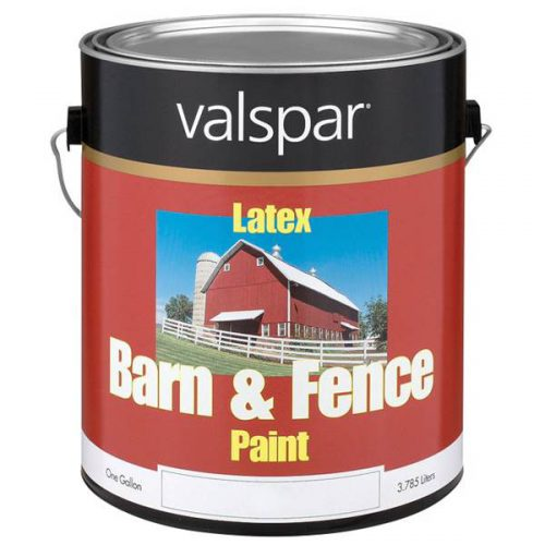 Valspar Barn Fence Paint Red