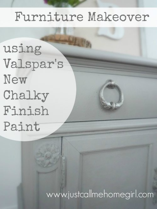 Valspar Chalky Finish Paint Makeover Just Call