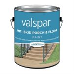 Valspar Dark Gray Anti Skid Porch Floor Paint Lowe