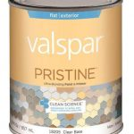 Valspar Exterior Latex Paint Primer Clear Base Quart