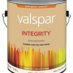 Valspar Integrity Latex Paint Primer Semi Gloss Exterior House White