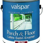 Valspar Multi Purpose Porch Floor Latex Enamel Paint Gal Tile