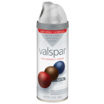 Valspar Premium Spray Paint Metallic Silver Fleet