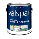 Valspar Tile Red Latex Porch Floor Paint Lowe