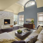 Vaulted Ceiling Living Room Paint