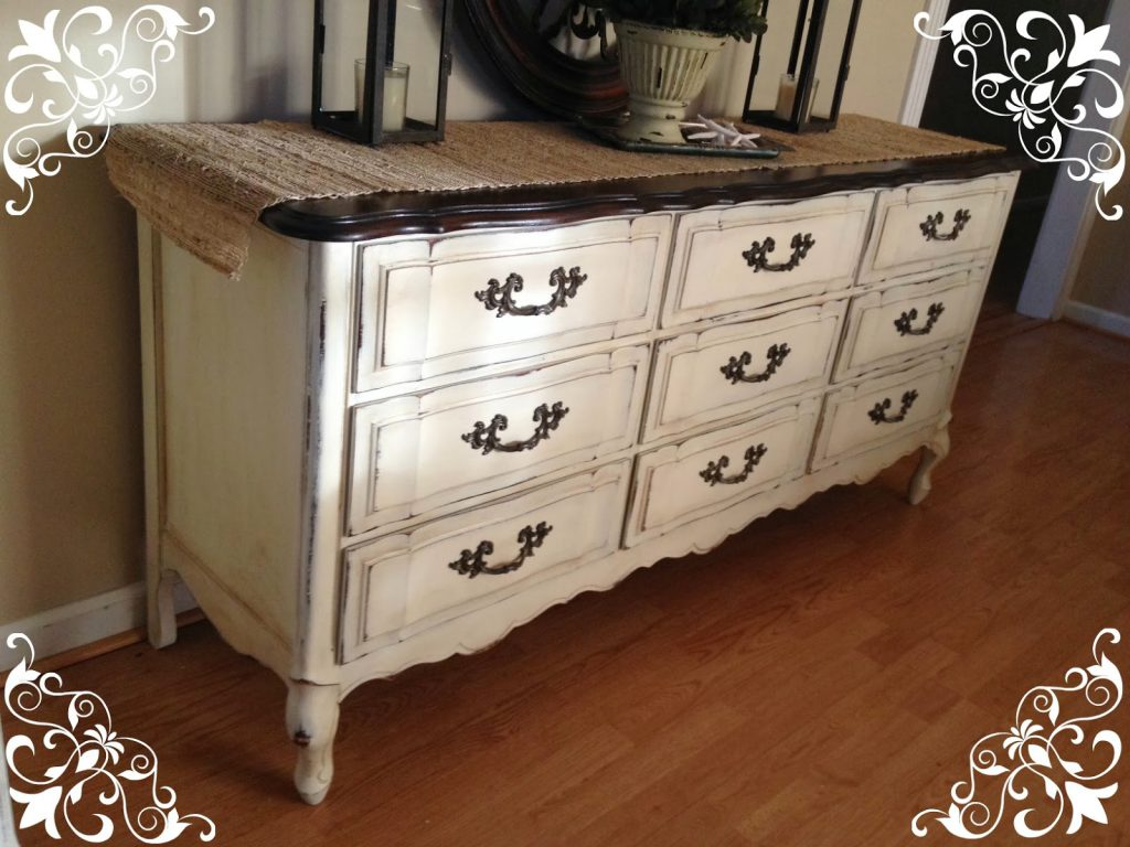 Vintage Country Style Get Inspired Before After Dresser Using Annie Sloan Chalk