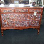 Vintage Dresser Hand Painted Local Artist Cherry Pickin Home Furnishings