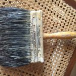 Vintage Horse Hair Vulcanized Rubber Wood Paint Brush Traceyscollectibles Etsy