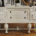 Vintage Jacobean Buffet Annie Sloan Chalk Paint Old