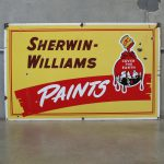 Vintage Sherwin Williams Metal Paint Sign Yka
