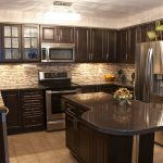 Wall Colors Kitchen Dark Cabinets Home