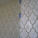 Wall Painting Stencils Custom Paint Moroccan Ideas