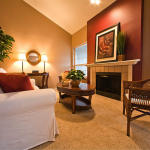 Warm Living Room Nuanced Using Beige Wall Accents Paint Feat Splendid Sofa Oval Table