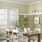 Warm Paint Color Ideas Dining Room Wainscoting Home