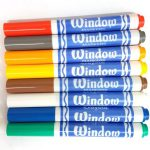 Washable Window Markers Colours