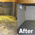 Water Damage Restoration Collegeville Dry Tech Basement Waterproofing Paint