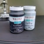 Waverly Chalk Paint Review Side Table Makeover Walmart Crafts Pinterest Furniture
