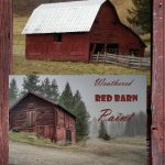Weathered Red Barn Paint Make Your Rustic Crafts