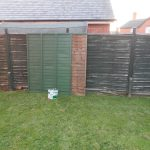 Week Mostly Painting Fence Panels Lost City