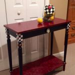 Whimsical Painted Furniture Hand Console