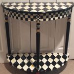 Whimsical Painted Furniture Harlequin